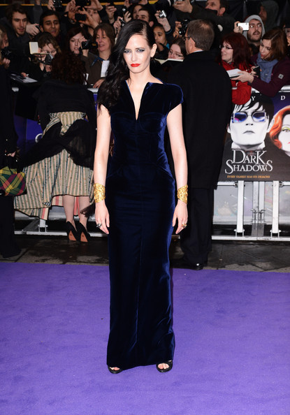 """Actress Eva Green attends the European premiere of """"Dark Shadows"""" at Empire Leicester Square on May 9, 2012 in London, England."""
