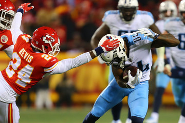 Darrelle Revis Wild Card Round - Tennessee Titans v Kansas City Chiefs