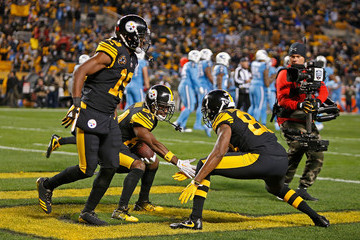 Darrius Heyward-Bey Tennessee Titans v Pittsburgh Steelers