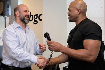 Darryl McDaniels Annual Charity Day Hosted By Cantor Fitzgerald, BGC and GFI - BGC Office - Inside
