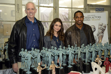 Daryl Anderson Jason George 22nd Annual Screen Actors Guild Awards - The Casting of the SAG Awards Statuette