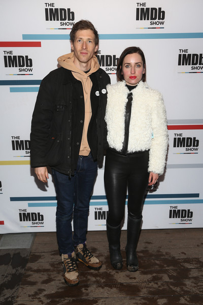The IMDb Show Launch Party [outerwear,event,premiere,jacket,carpet,daryl wein,zoe lister-jones,utah,park city,launch party,imdb show,the imdb show launch party,the sundance film festival]