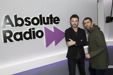 Dave Berry Liam Gallagher Visits Absolute Radio
