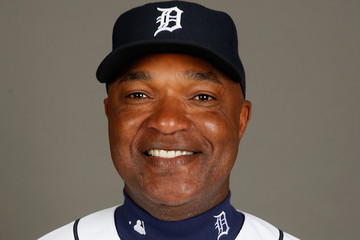 Dave Clark Detroit Tigers Photo Day