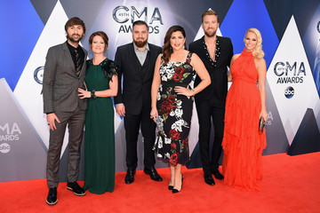 Dave Haywood Cassie McConnell 49th Annual CMA Awards - Arrivals
