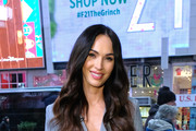 "Actress/model Megan Fox visits ""Extra"" on November 28, 2018 in New York City."