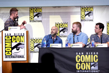 David Alpert Dave Erickson Comic-Con International 2016 - AMC's 'Fear The Walking Dead' Panel