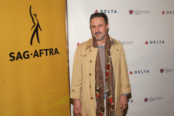 David Arquette The Elizabeth Taylor AIDS Foundation and SAG-AFTRA Co-Host World AIDS Day Event in Los Angeles