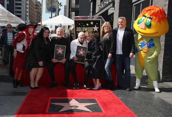 Sid And Marty Krofft Are Honored With A Star On The Hollywood Walk Of Fame