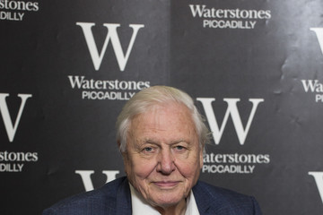 David Attenborough Sir David Attenborough Signs Copies Of The 40th Anniversary Edition Of 'Life On Earth'