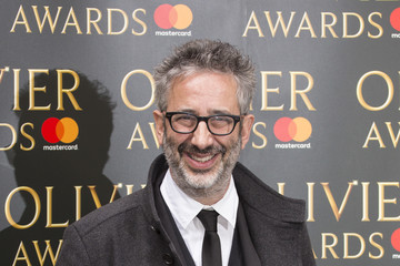 David Baddiel Olivier Awards Nominations Celebration - Arrivals