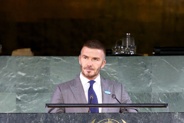 David Beckham David Beckham And Millie Bobby Brown Demand Rights For Every Child