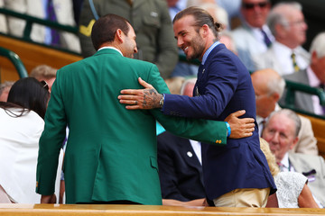 David Beckham Day Five: The Championships - Wimbledon 2017