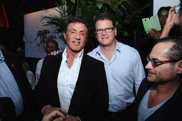 David Blumenfeld Sylvester Stallone Celebrates His Magazine Cover