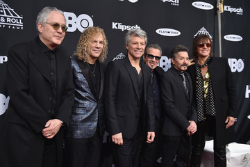 David Bryan 33rd Annual Rock & Roll Hall Of Fame Induction Ceremony - Arrivals