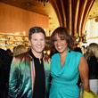 Gayle King and David Burtka Photos