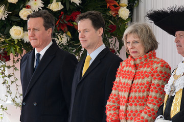 David Cameron Nick Clegg State Visit of the President of United Mexican States: Day 1