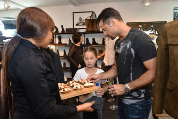 David Charvet John Varvatos Malibu Brunch