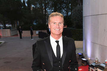 David Coulthard Red Carpet - 2018 Laureus World Sports Awards - Monaco