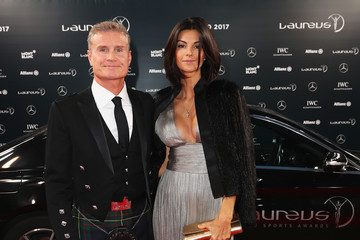 David Coulthard Red Carpet - 2017 Laureus World Sports Awards - Monaco