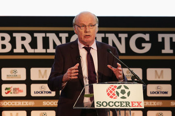 David Davies Soccerex Global Convention 2016 Day 1