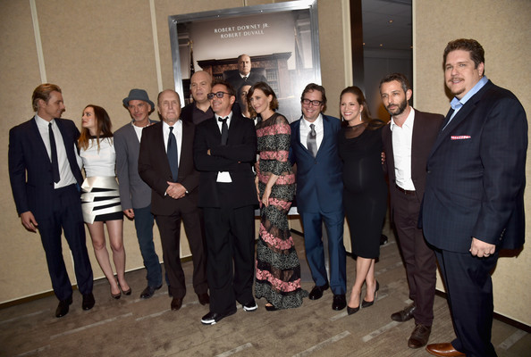 'The Judge' Premieres in Beverly Hills — Part 3 [warner bros. pictures and village roadshow pictures,social group,team,event,community,businessperson,management,white-collar worker,job,employment,company,judge,robert downey jr.,susan downey,vera farmiga,david dobkin,jeremy strong,actors,red carpet,premiere]