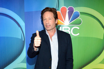 David Duchovny The 2015 NBC Upfront Presentation Red Carpet Event