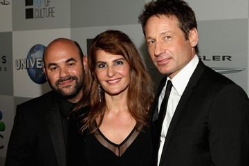 David Duchovny Universal, NBC, Focus Features, E! Entertainment - Sponsored By Chrysler And Hilton - After Party