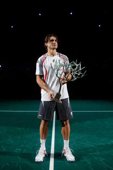 David Ferrer - BNP Paribas Masters - Day Seven