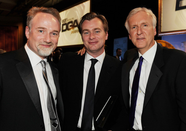 Photo of Christopher Nolan & his friend director  David Fincher - Longtime