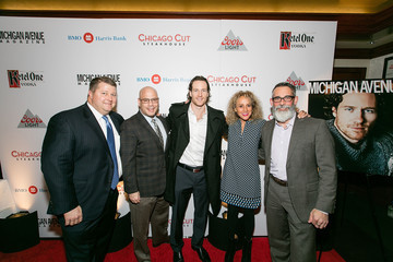 David Flom Michigan Avenue Magazine's November Cover Celebration with Duncan Keith Presented by BMO Harris Bank at Chicago Cut Steakhouse