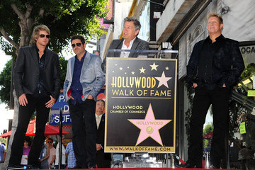 David Foster Rascal Flatts Honored On The Hollywood Walk Of Fame