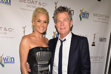 David Foster Arrivals at the WIN Awards Ceremony