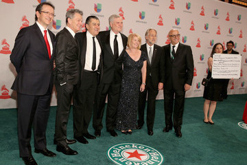David Foster Heineken, The Official Beer Sponsor Of The Latin GRAMMY Awards, Celebrates The Biggest Night In Latin Music At The 15th Annual Latin GRAMMY Awards - Green Carpet