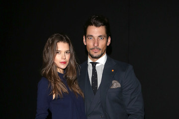 David Gandy Sarah Ann Macklin Oliver Spencer: Front Row - London Collections: MEN AW13
