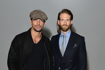 David Gandy Front Row & Arrivals: Day 3 - LFWM June 2017