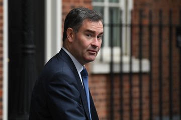 David Gauke Theresa May Holds First Cabinet Meeting Since Conservative Party Conference