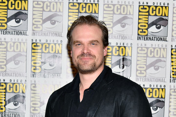 David Harbour Comic-Con International 2017 - Netflix's 'Stranger Things' Press line