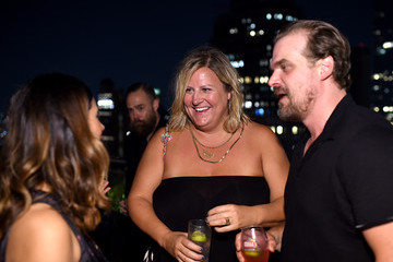David Harbour Momentum Pictures With the Cinema Society Host a Screening of 'Fun Mom Dinner' - After Party