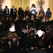 David Harvey Michelle Obama Hosts Career Workshop