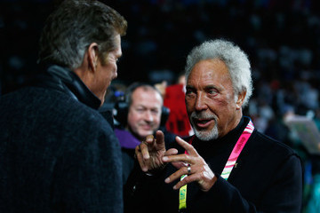 David Hasselhoff England v Wales - Group A: Rugby World Cup 2015