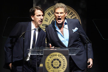 David Hasselhoff 8th Annual Guild of Music Supervisors Awards