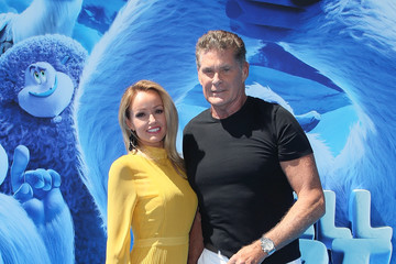 David Hasselhoff Premiere Of Warner Bros. Pictures' 'Smallfoot' - Arrivals