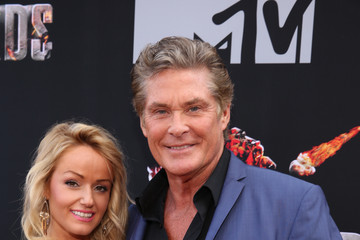 David Hasselhoff Arrivals at the MTV Movie Awards — Part 3