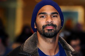 David Haye 'Captain America: The Winter Soldier' London Premiere