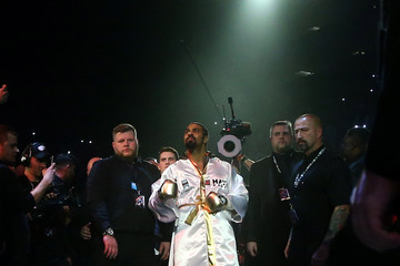 David Haye Boxing at the O2 Arena