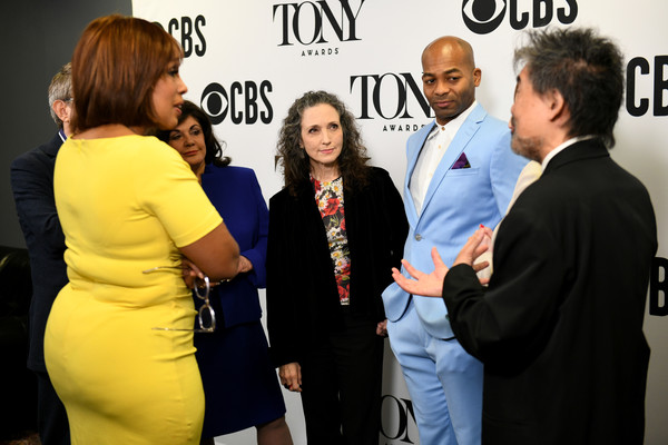 Bebe Neuwirth And Brandon Victor Dixon Host The 73rd Annual Tony Awards Nominations Announcement