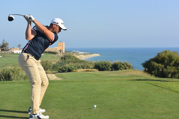 David Howell The Rocco Forte Open - Day Two