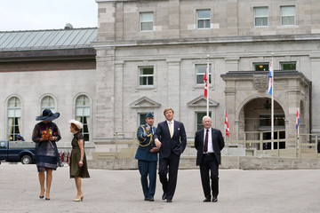 David Johnston King Willem-Alexander And Queen Maxima Of The Netherlands State Visit To Canada