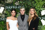 (L-R) Jessica Gomes, Anwar Hadid and Victoria Lee attend the David Jones Spring Summer 18 Collections Launch at Fox Studios on August 8, 2018 in Sydney, Australia.